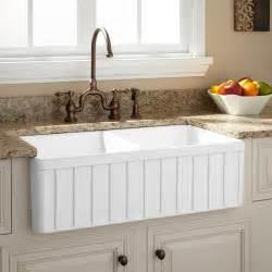 drop farmhouse kitchen sink
