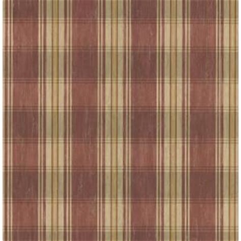 Brewster Home Depot by Brewster 8 In W X 10 In H Plaid Wallpaper Sle 145