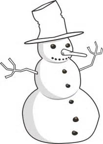 Snowman Outline Simple by Snowman Outline Clip At Clker Vector Clip Royalty Free Domain