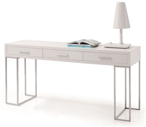White Modern Office Desk Furniture Stores In Chicago Modern White Desk