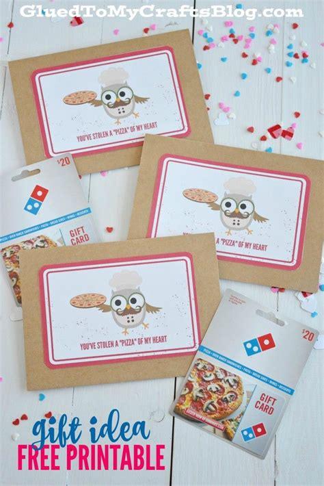 printable pizza gift cards 2175 best diy craft inspiration images on pinterest