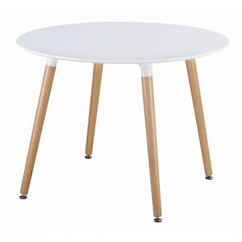 White Circular Dining Table Eames Style Dsw White Dining Table