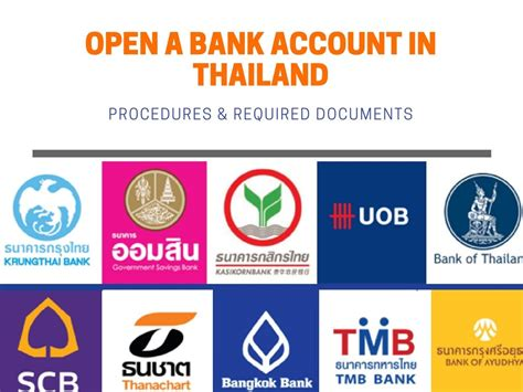 banken in thailand with these things in mind opening a bank account in