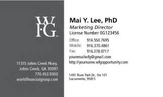 wfg business cards business card