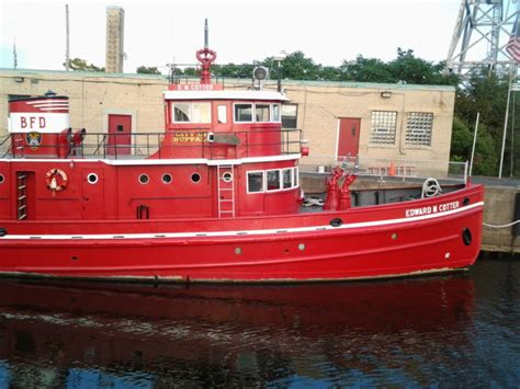 oldest fireboat edward m cotter in buffalo is the oldest active fireboat