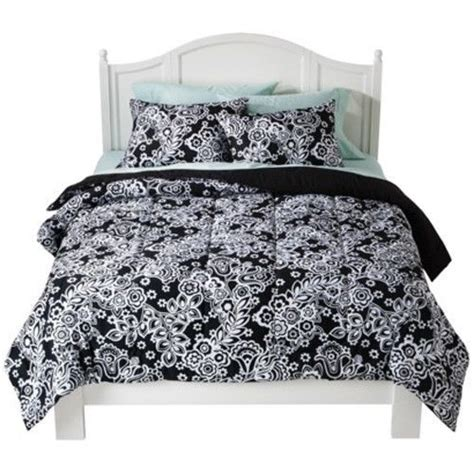 black and white twin xl bedding twin xl extra long dorm size bedding damask comforter set