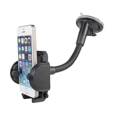 Car Holder Smartphone Leher Panjang Kualitas Bagus jual vr phone holder mobil car phone holder tangkai