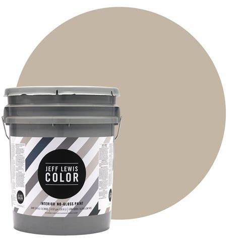 jeff lewis color jeff lewis color 5 gal jlc214 quarry no gloss ultra low