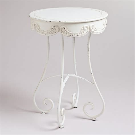 white round accent table round white accent table starrkingschool