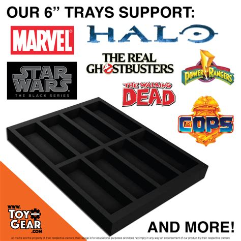 figure storage figure archival trays display and storage by