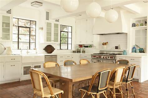 Eat In Kitchen Furniture by Terracotta Kitchen Floor Transitional Kitchen Tim Barber