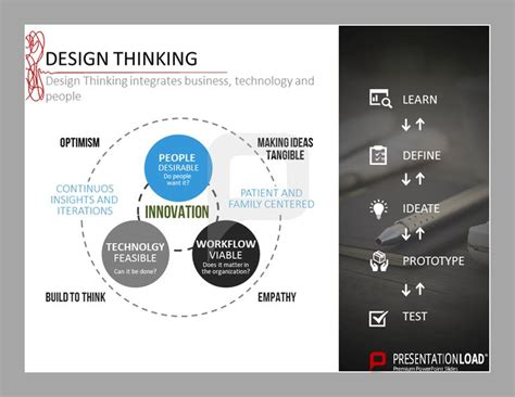 design thinking technology 57 best design thinking powerpoint templates images on