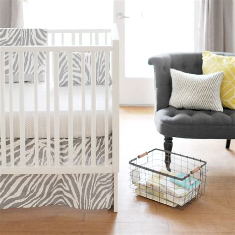 safari crib bedding safari in gray crib bedding set by new arrivals inc