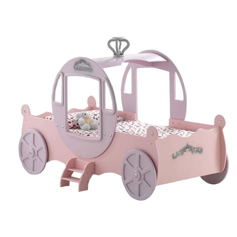 princess carriage bed wood princess carriage bed simple home decoration