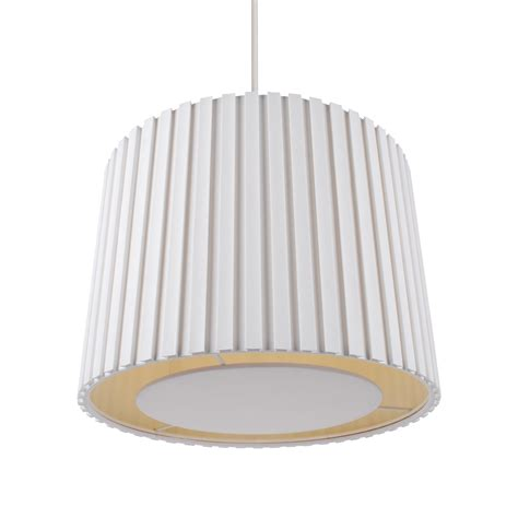 Pendant Light Diffuser 350mm Pleated Non Electric L Shade Ceiling Light