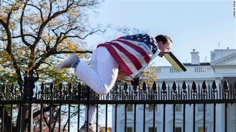 white house fence jumper white house fence jumper detained cnnpolitics com