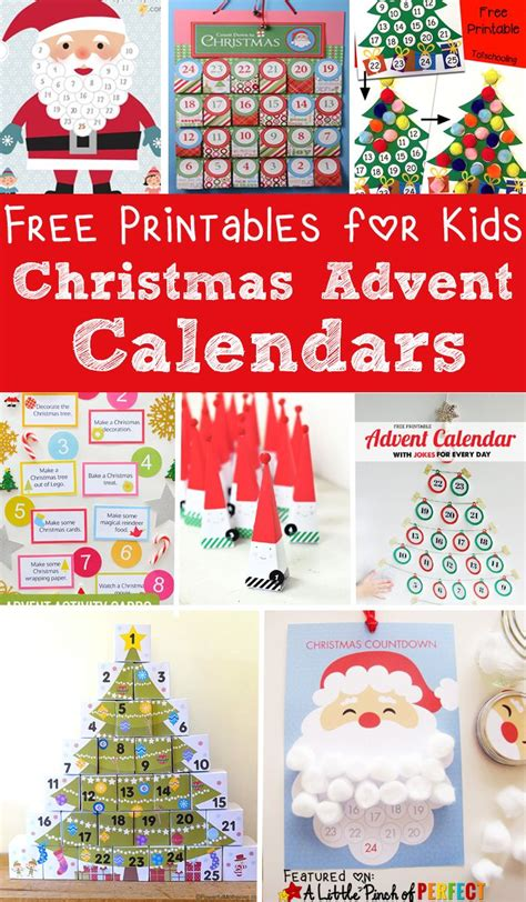 Advent Calendars To Make Template