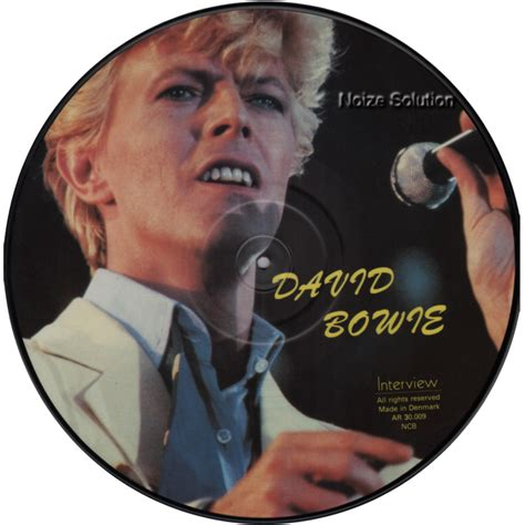 David Bowie Criminal Record David Bowie Official Merchandise And Picture Disc Collectors Store And Other
