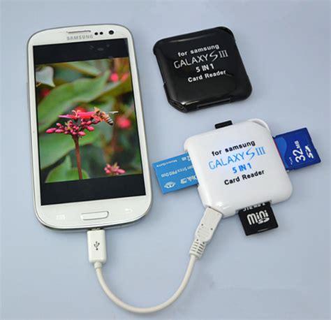Sale Card Reader top sale multi card reader for samsung s3 s4 buy card