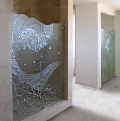Cast Glass Shower Doors Shower Door Contemporary Bathroom San Diego By Cast Glass Images Inc