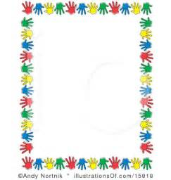 free preschool clip art stationary or scrapbook border