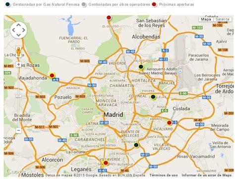 mapa de carreteras de asturias tama 241 o mapa carreteras 2015 espana mapa de las 6 estaciones de suministro p 250 blico de gnc en
