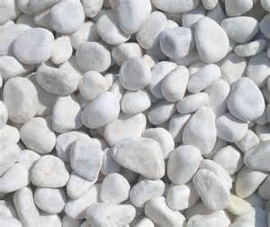 beautiful 1 2cm snow white quartz garden pebbles 20kg bag landscaping rock stone ebay