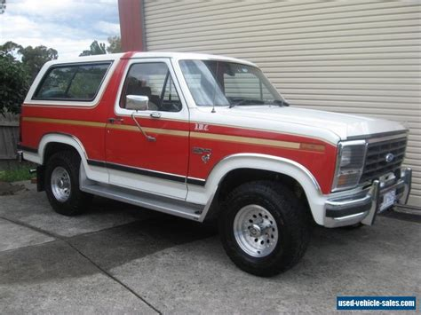 ford broncos for sale ford bronco for sale in australia