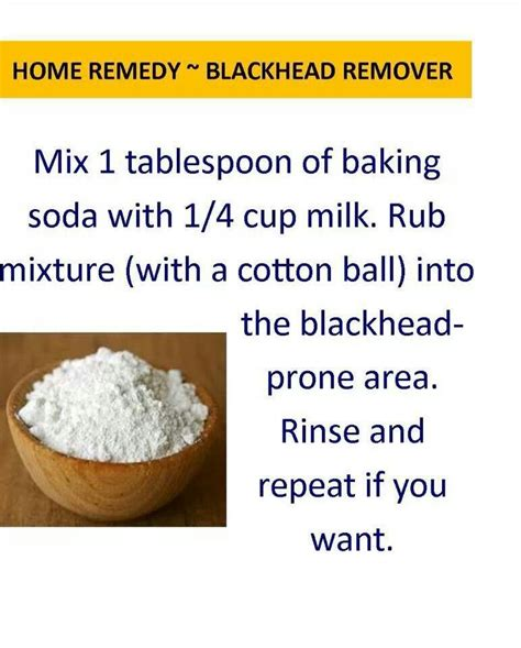 blackhead remedy home remedies