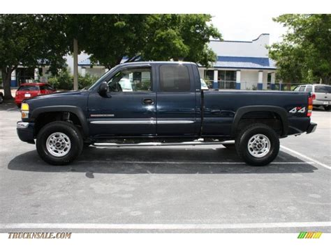 2005 gmc 2500hd extended cab 2005 gmc 2500hd sle extended cab 4x4 in blue