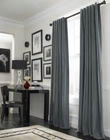 Curtains With Gray Walls Die Passenden Gardinen Und Vorh 228 Nge Schm 252 Cken Die Fenster
