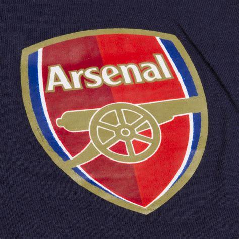 arsenal official boys official arsenal short pyjamas 100 cotton football