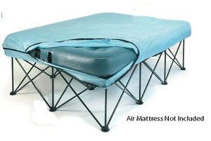 Bed Frames For Air Mattresses Size Anywhere Bed Frame Designed For Air Mattresses Travel Or Stowaway