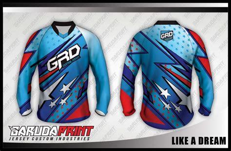 Baju Sepeda Balap Racmmer Seri 05 Lengan Panjang Pria Produk Import koleksi desain jersey sepeda downhill 01 garuda print page garuda print