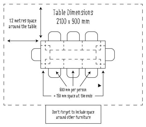 what size table seats 8 home design delightful dining table size for circular