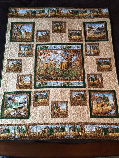 quilt pattern fabric panel 267 best images about quilts wildlife on pinterest