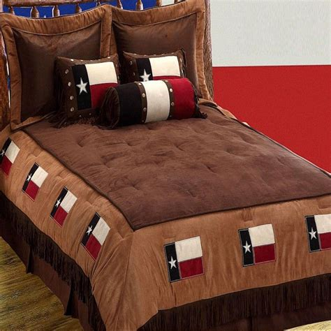 texas bedding set texas flag 7 piece oversize queen comforter bed set new ebay