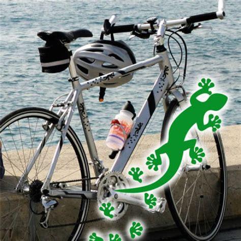 Aufkleber Fahrrad Registriert by Ff006 Fahrradaufkleber Gekko Pfotenaufkleber Sticker
