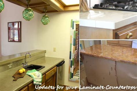 Change Countertop Without Replacing diy updates for your laminate countertops without replacing them