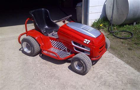 racing lawnmower princess auto