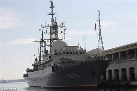 russian spy boat russian spy ship seen off the east coast again daily