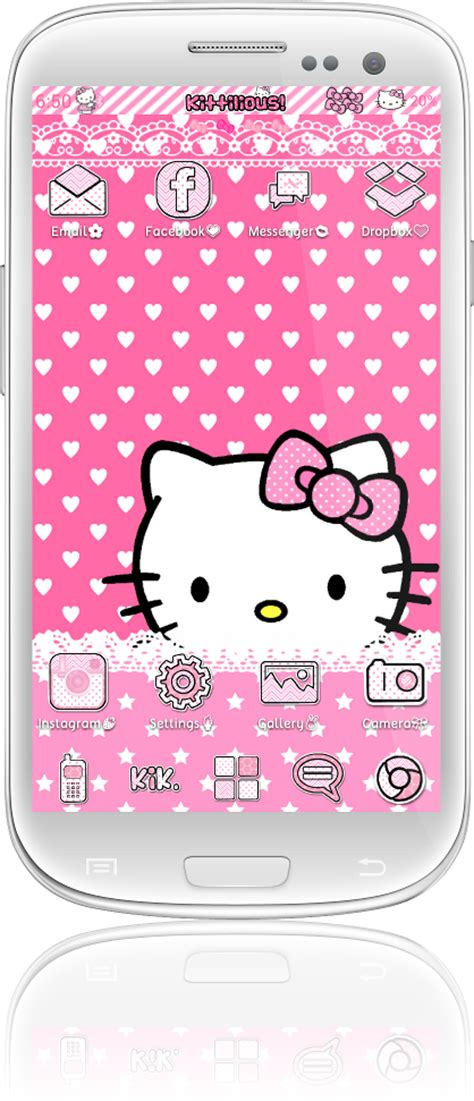 themes go keyboard hello kitty kittilicious themes for android a collection of android