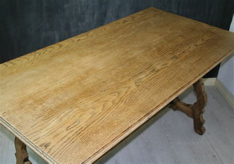 spanish style dining table arts and crafts spanish style oak dining table antiques