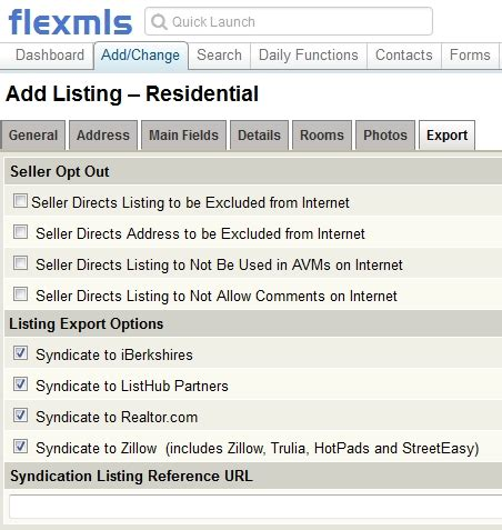 your listings on zillow trulia hotpad and easy