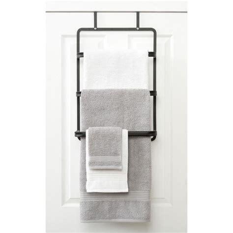 door towel racks for bathrooms over the door towel rack kmart