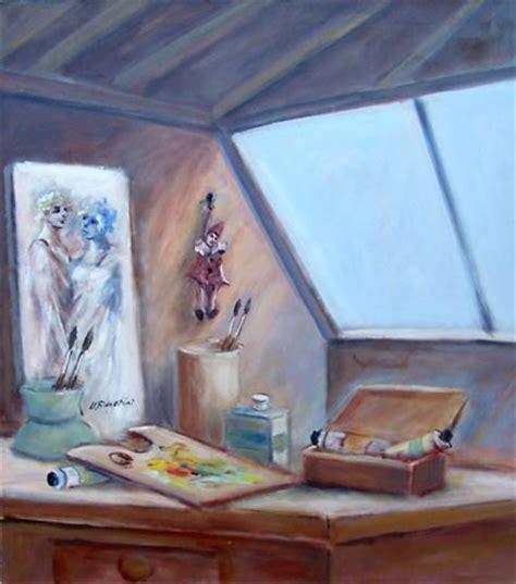 la soffitta florence quadro di umberto bianchini la soffitta pittore