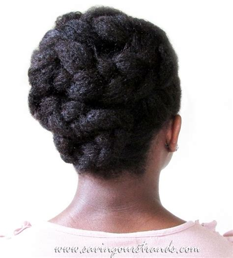 Black Braided Updo Hairstyles by 50 Updo Hairstyles For Black Ranging From To