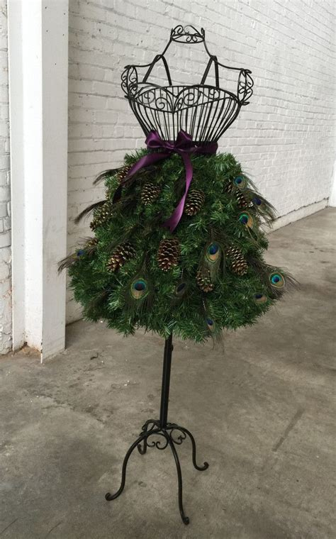 peacock feather christmas trees for sale 60 best diy dress form trees images on