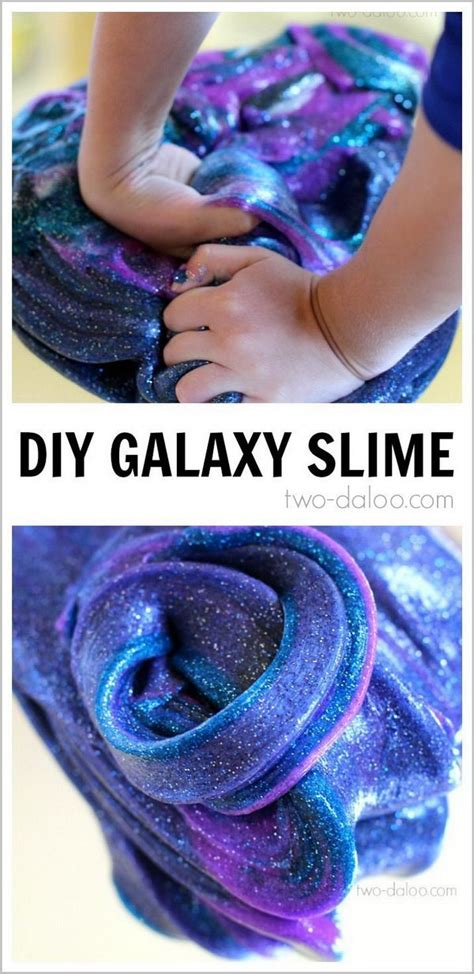 tutorial slime galaxy diy galaxy projects and tutorials inspired by the outer space