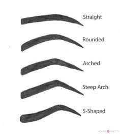 1000 ideas about eyebrow shapes on eyebrows